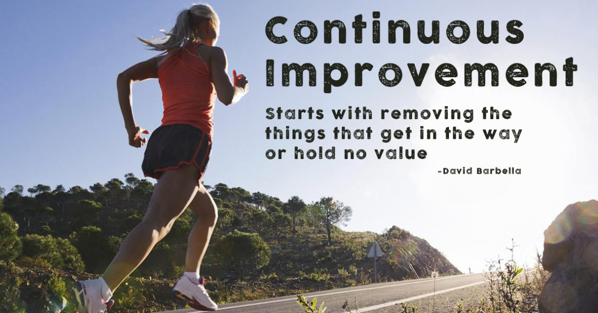 Continious-Improvement---removing-waste-and-obstacles